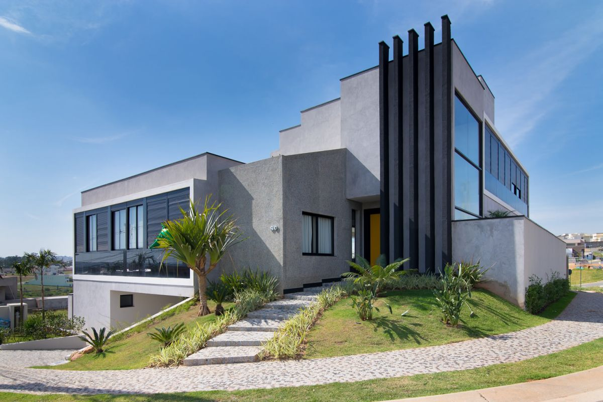 Modern architecture uses windows not only for light but for aesthetic value.
