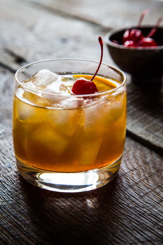 For a surprisingly seasonal flavor, try this maple bourbon cocktail.