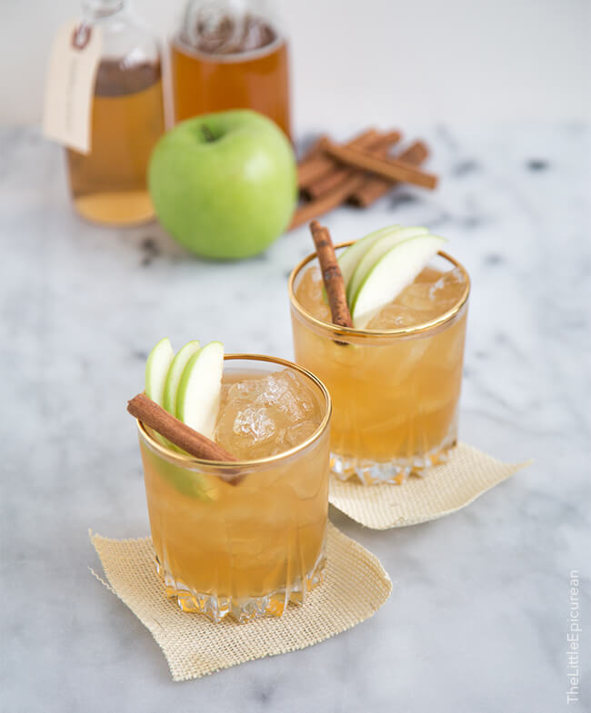 If you're craving a sweeter cocktail, try this delicious apple pie moonshine cocktail!