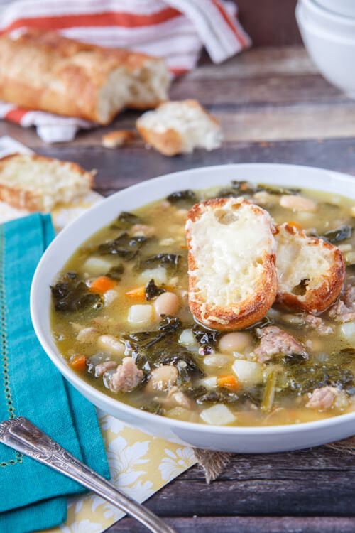Rustic and delicious, this Tuscan-style soup is easy to make and even easier to enjoy.
