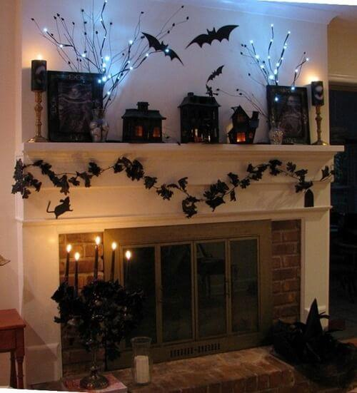 Make it a spooky Halloween this year by sitting on the floor and telling scary ghost stories!