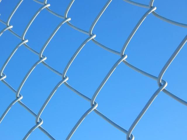 Chain link fences are incredibly durable and affordable.