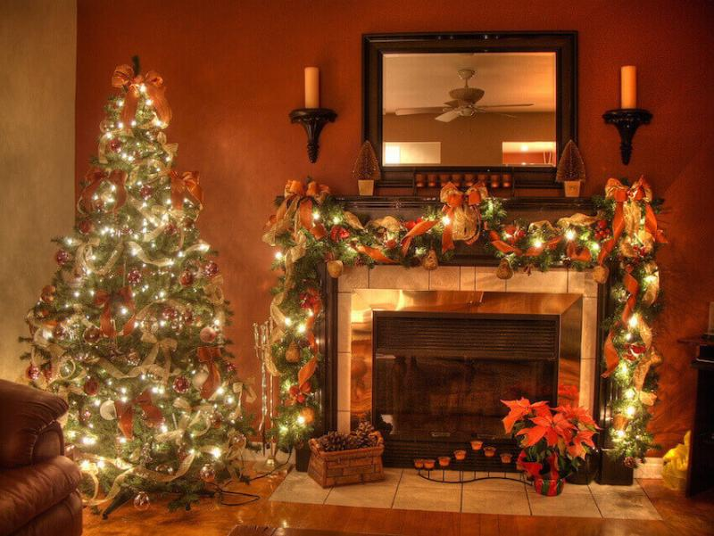 Christmas warmth and cheer can heat things up