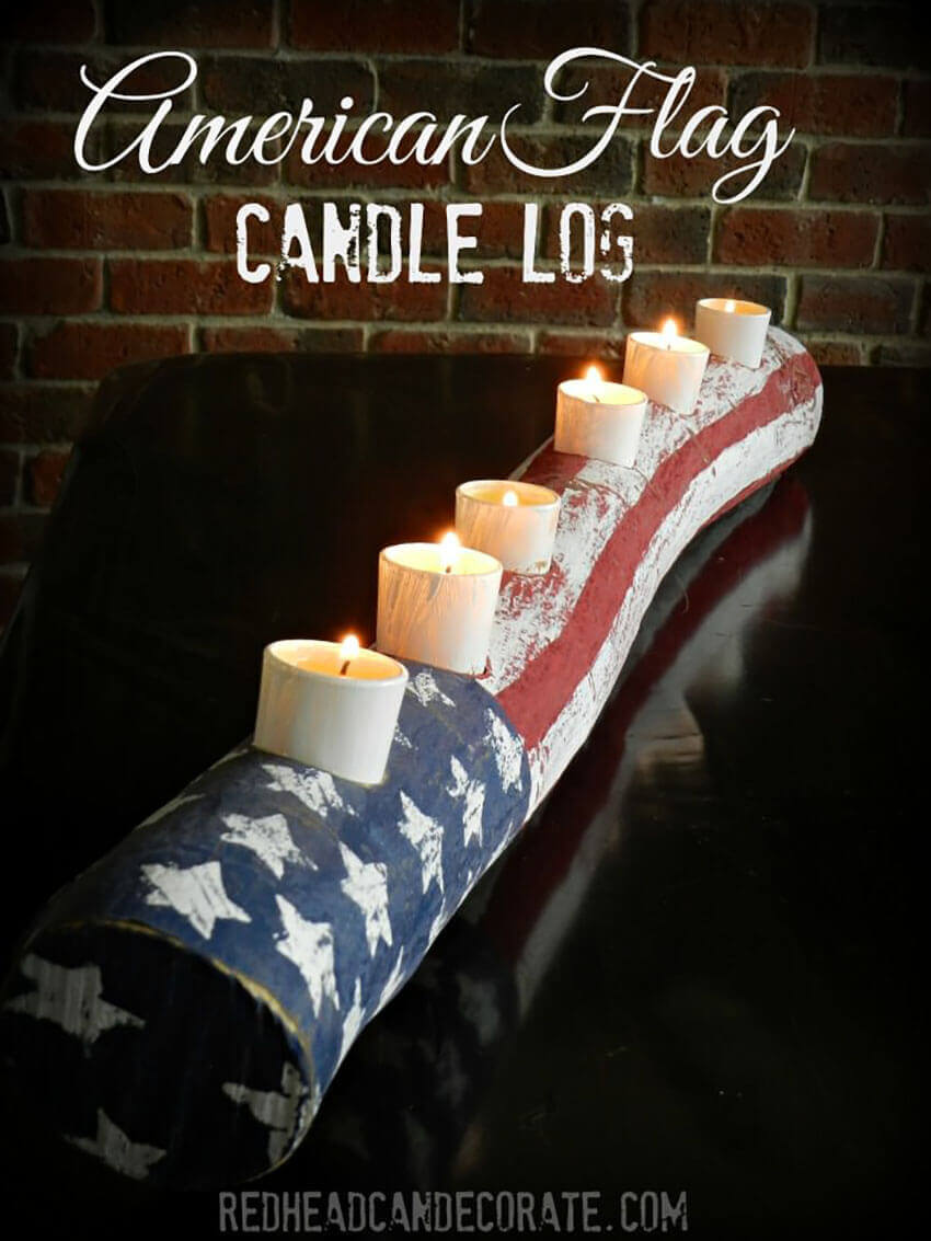 This candle log is great for any event!
