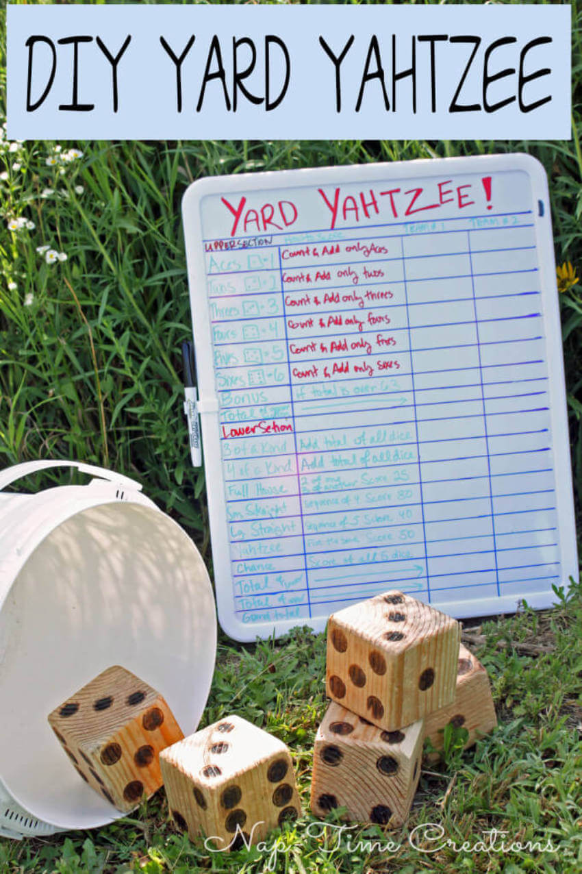 Yahtzee is a great way to have some family fun together.