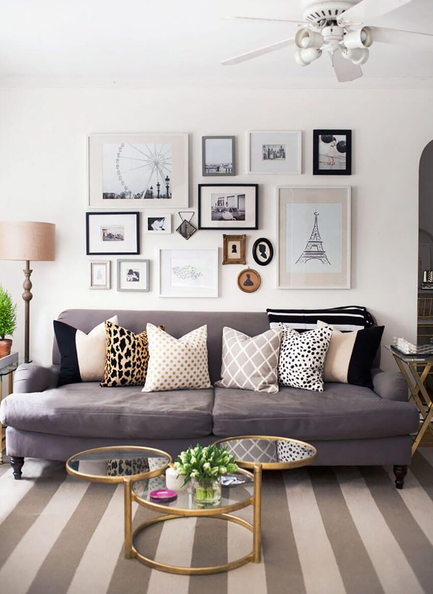 Make it personal by adding pieces you love.