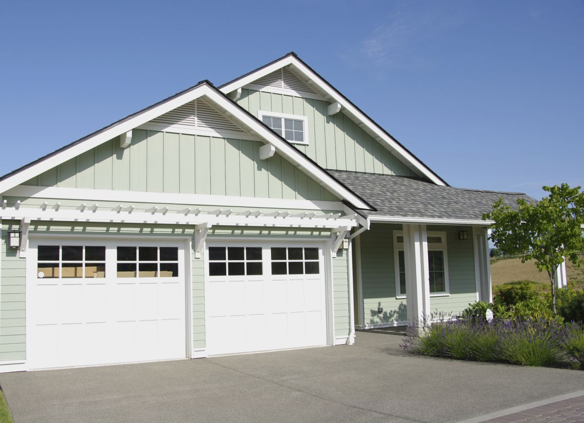Be sure to replace your garage doors for added curb appeal and resale value.