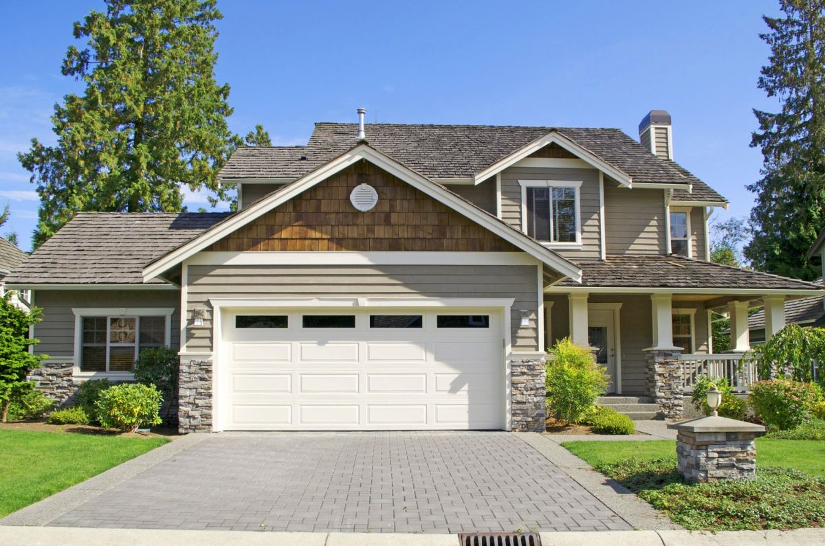 Steel garage doors are dependable and maintenance free.