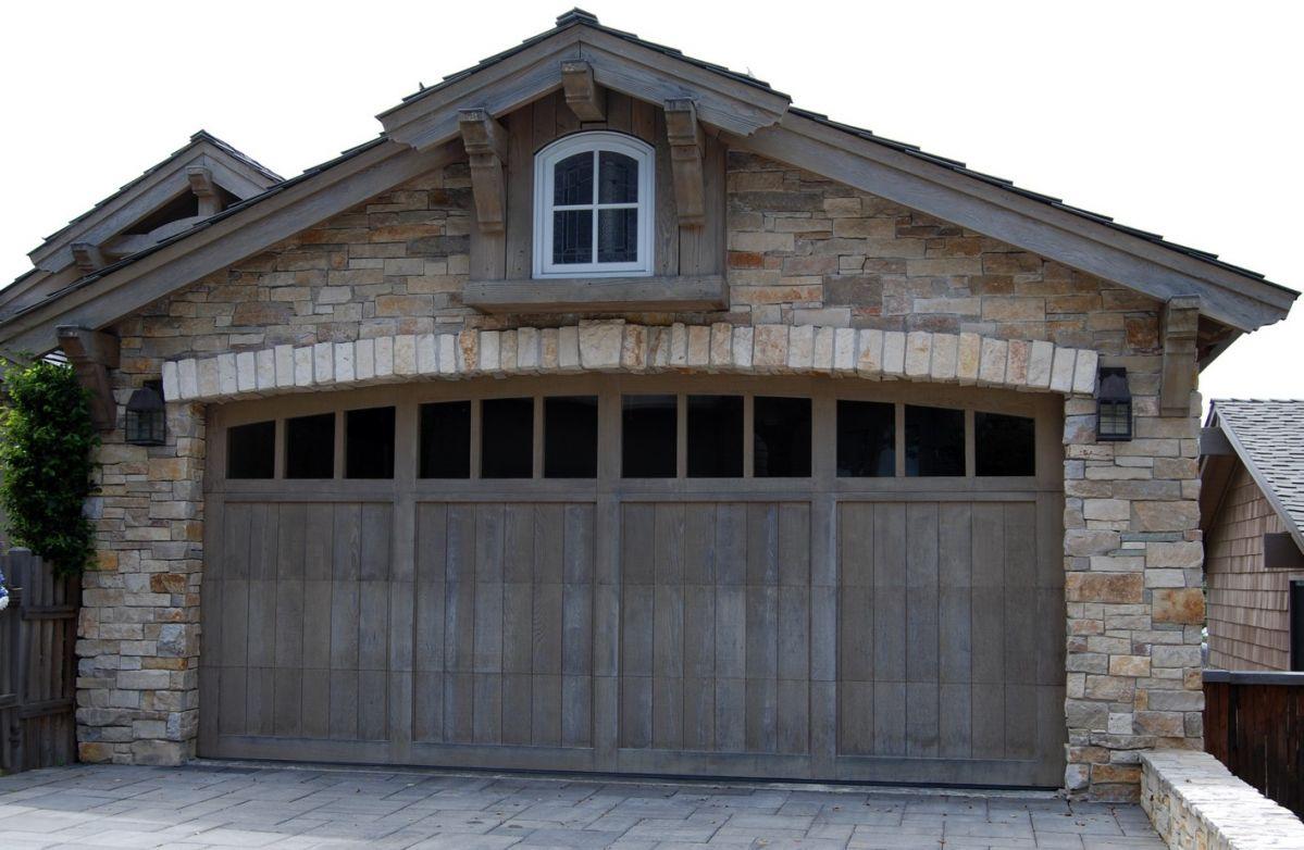 Wood garage doors are timeless classics.