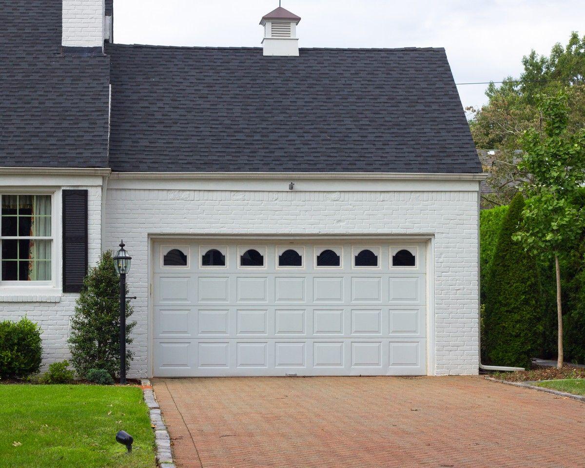 Extra wide garage door remodeling