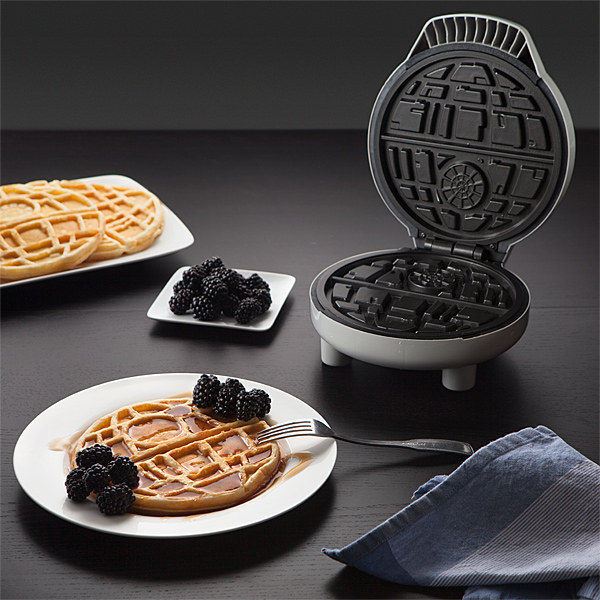get a Death Star waffle maker to feed your inner geek