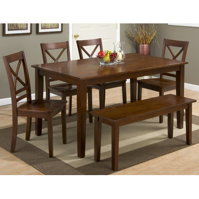Regal dining room table setup for a home