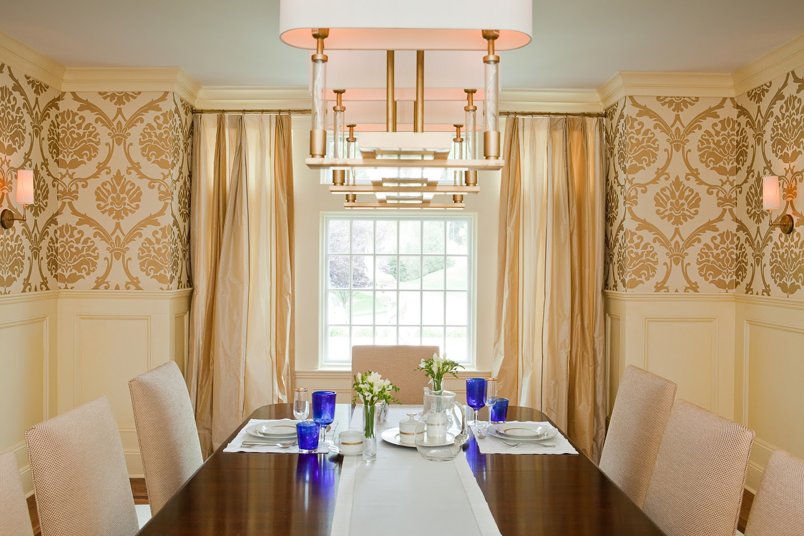 Beautiful fancy dining room set