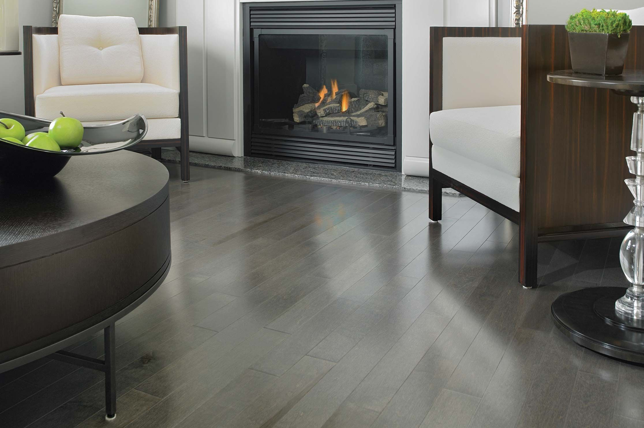 Gray flooring trend