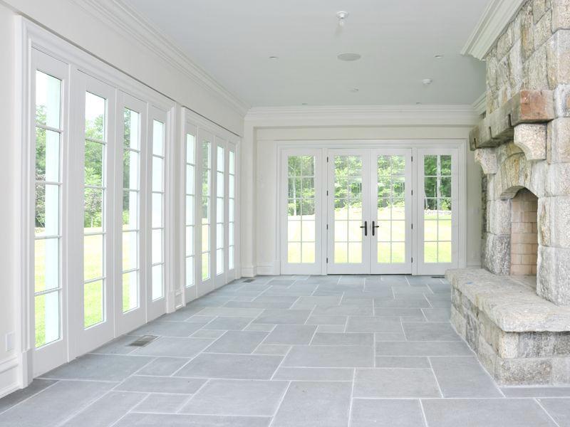 Gray Stone sunroom