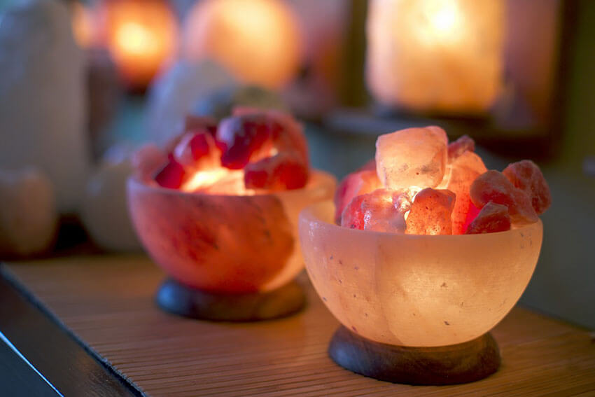 Salt Lamps bring many benefits for your health.