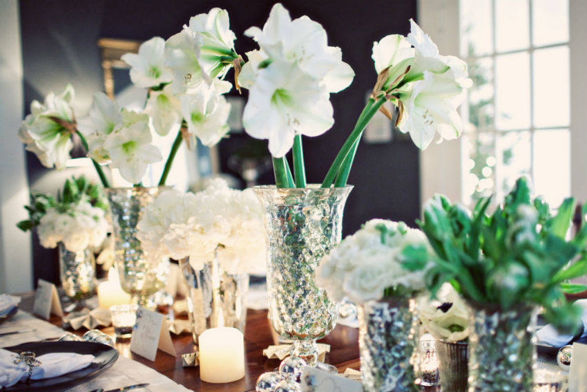 These beauties have become a favorite for table centerpieces for the holidays. Image Source: Home Designing