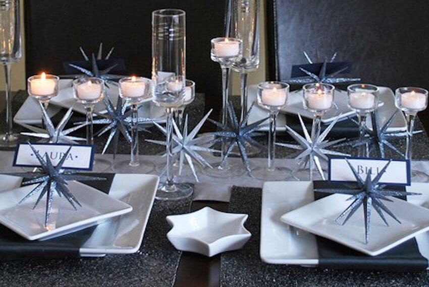 Amazing dining room plates and silverware
