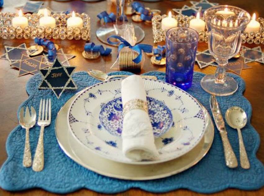 Mozel tov! Dining room celebrations for Jewish families