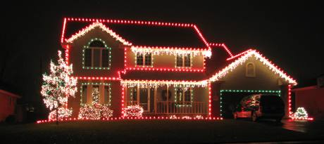Light up your holidays with these incredible electric light displays. Image source www.kansastravel.org/topeka/topekachristmasdisplays.htm