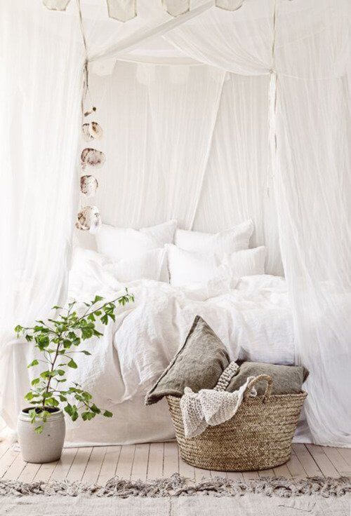Romantic bedroom ideas for all year round