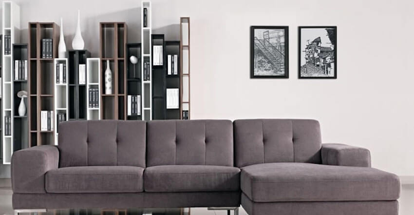 Grey scale provides cool comforting spaces