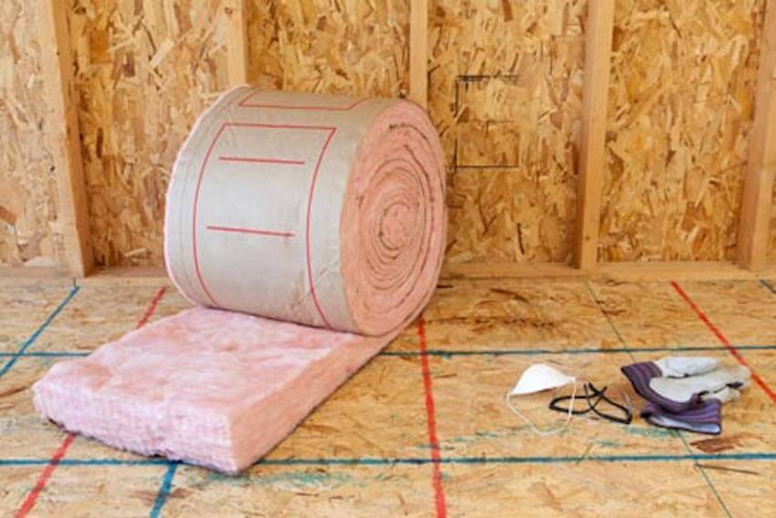 Attic insulation is a must for any home