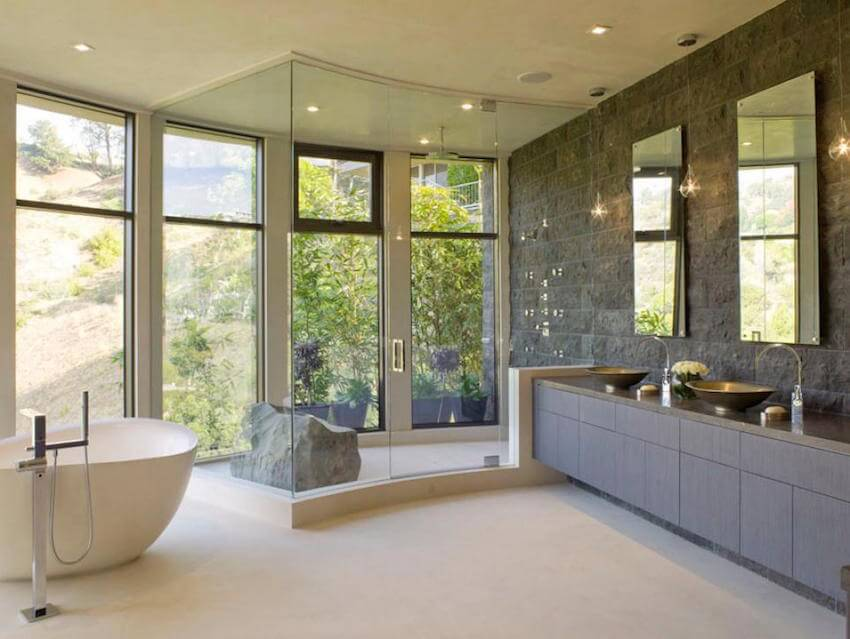 A shower tub for your bathroom remodeling
