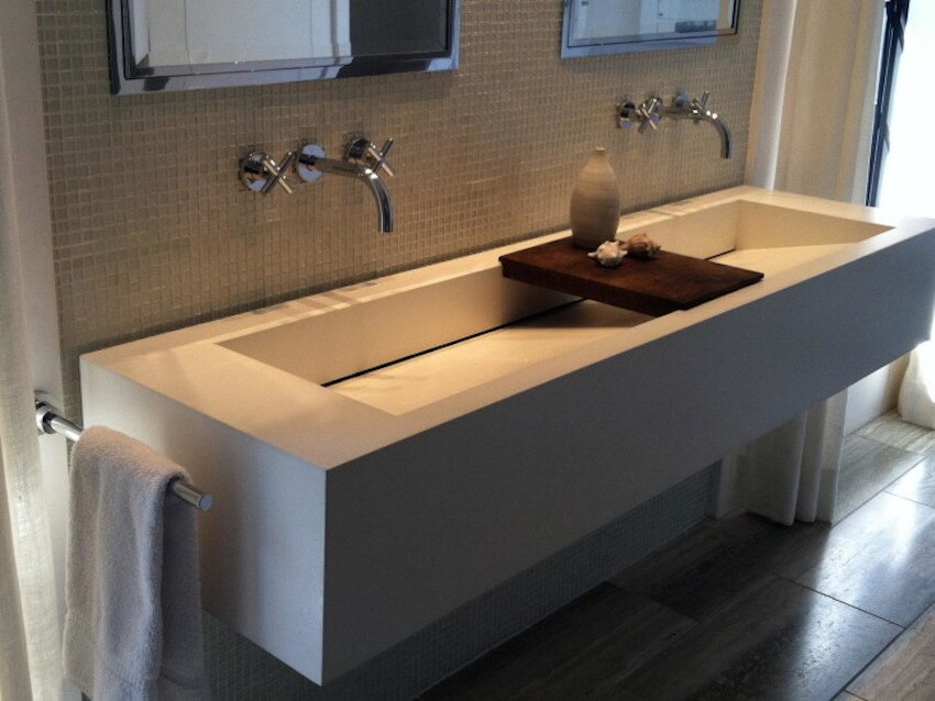 A bathroom sink designed just for washing