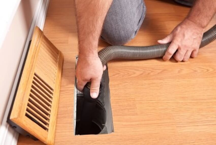 Cleaning out the vents can provide a great boost in efficiency and air quality