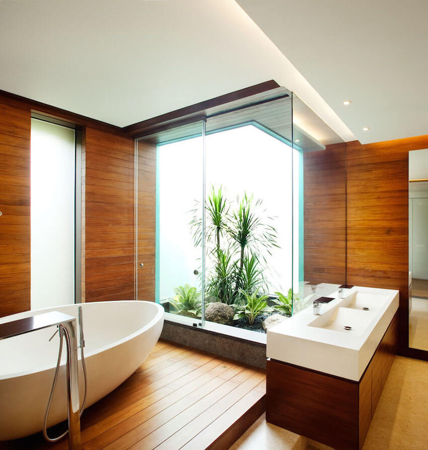 New interior fashion trends for home bathrooms
