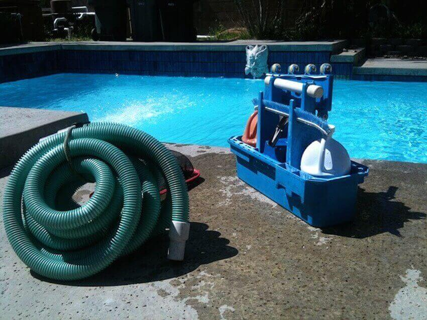 Power washing, pool vacuuming, pressure cleaning. That's the name of the game.