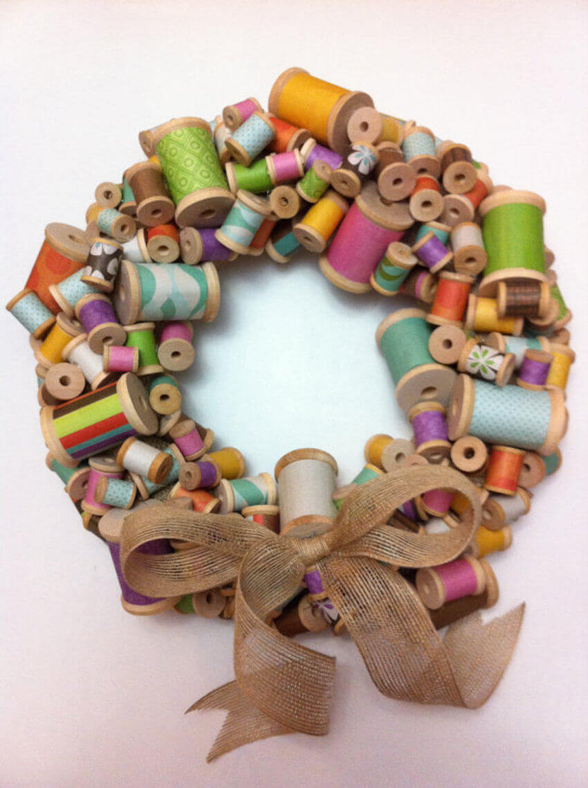 The ultimate in arts and crafts decor wreaths