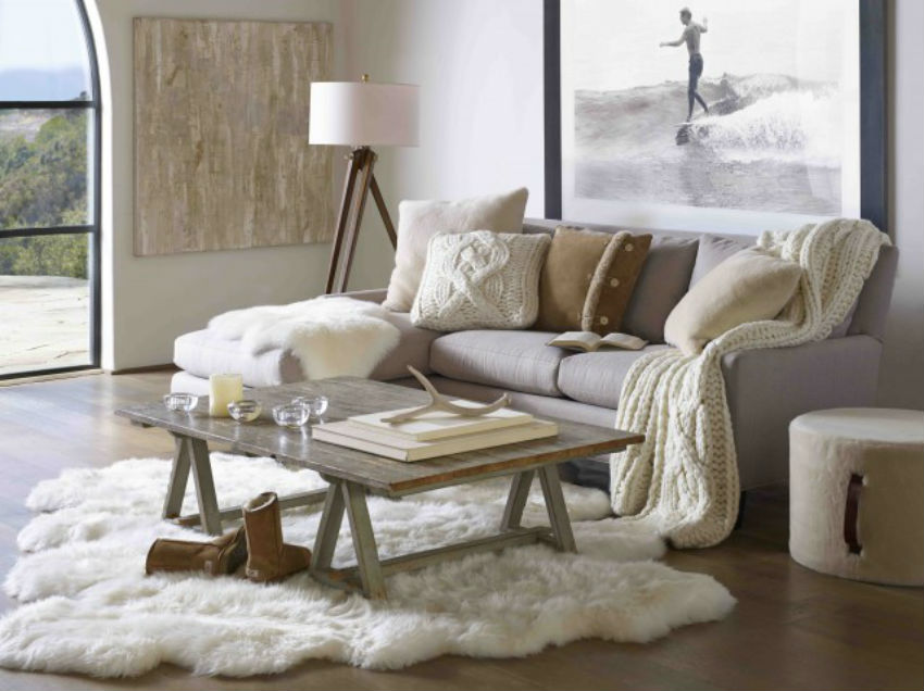 Hygee can refer to a way of life, activities and attitudes or even home decor style. Image Source: The Interiors Addict