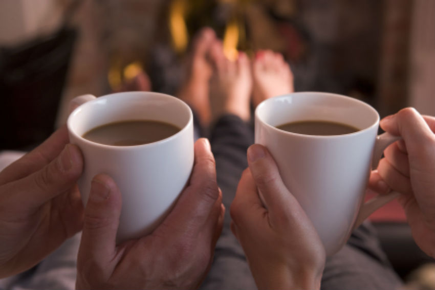 """Hygge is also associated with """"calm, """"gratification and """"appreciation. That's where the word """"Hug comes from. Image Source: Copenhagen Hostel Life"""