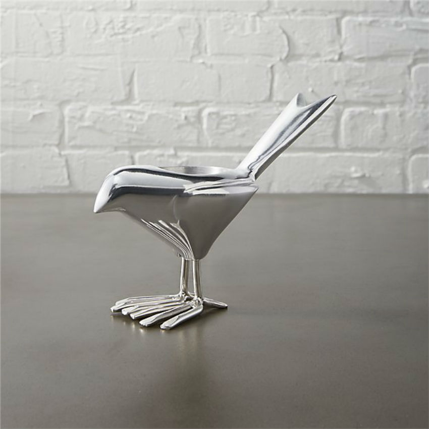 This sleek bird is a must have. The Price: $7.95! Image Source: cb2