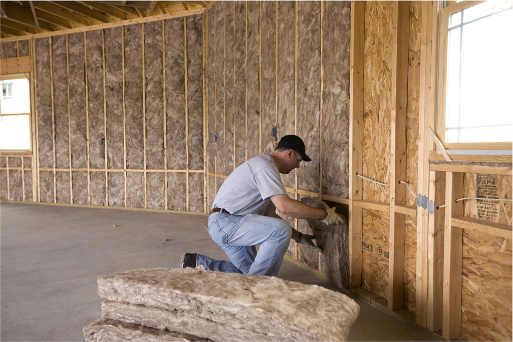 Batts and rolls of insulation can be easily fitted to any area.