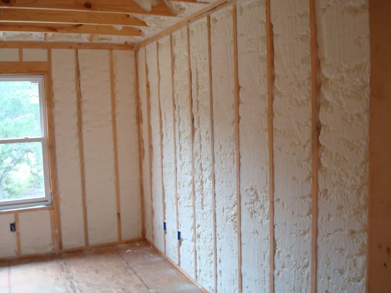 It may not look pretty, but spray foam insulation can save you hundreds on heating and cooling costs.