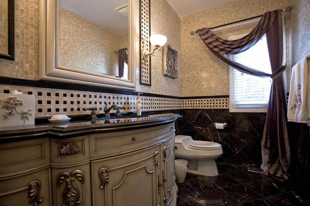 Victorian bathroom fixtures