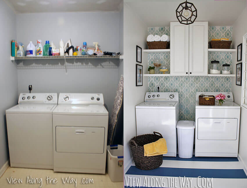 Laundry rooms need love too!