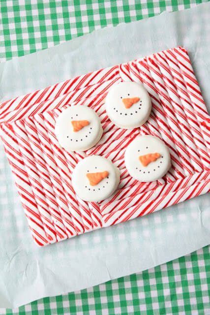 Serve your appetizers or desserts on this festive candy cane platter!