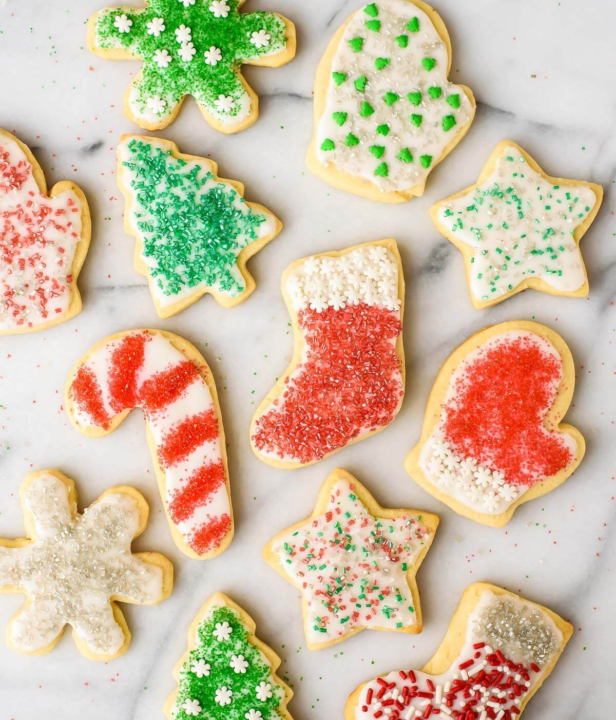 These perfect cream cheese sugar cookies are a sweet way to finish your festive feast!