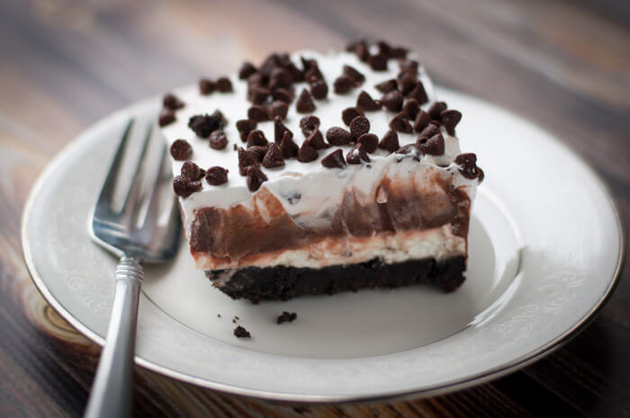 Chocoholics rejoice! This chocolate lasagna is the perfect dessert to finish off your holiday dinner!