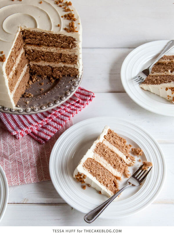 This eggnog cake is sure to be a hit with your friends and family this holiday season!