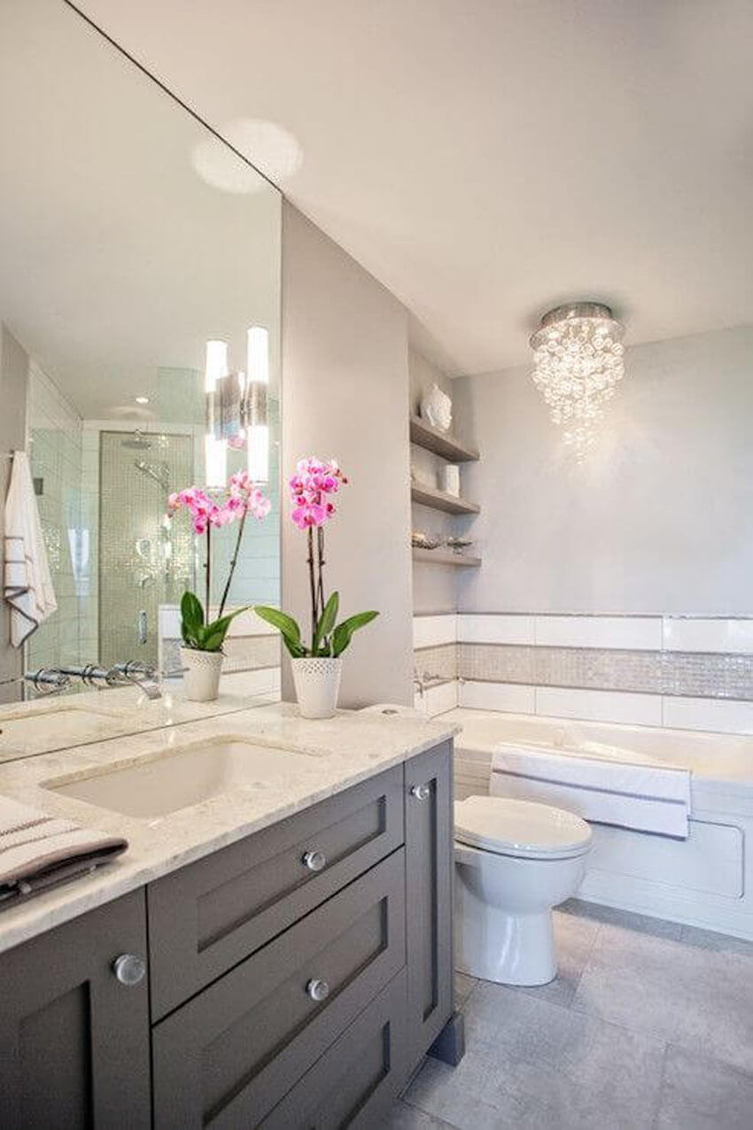 Home buyers pay close attention to bathrooms, so getting yours remodeled will help your house sell faster.