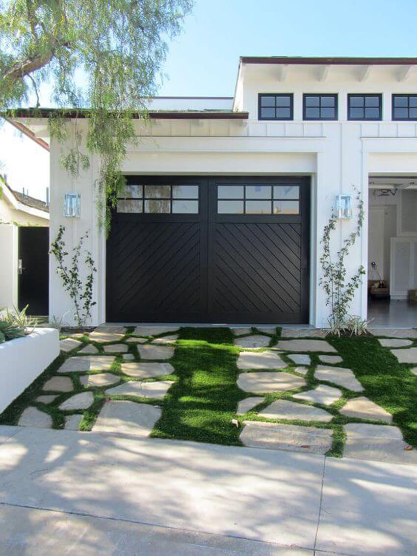 A new garage door will attract more buyers than an old, worn-down one.