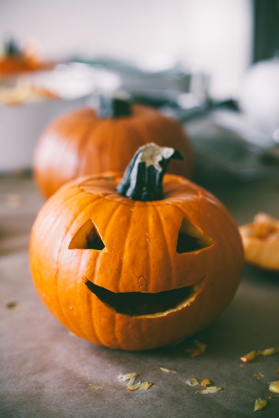 Homeowner tip: Choosing the right pumpkin is essential in having your jack-o-lantern last as long as possible.