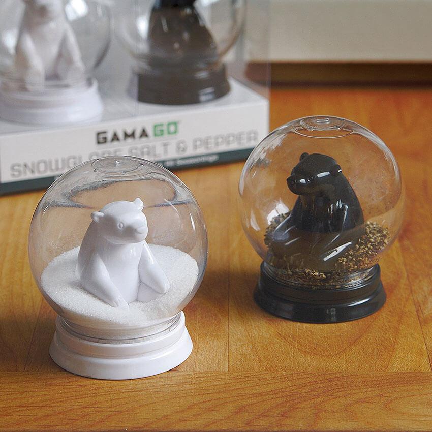 Snow Globe Salt and Pepper