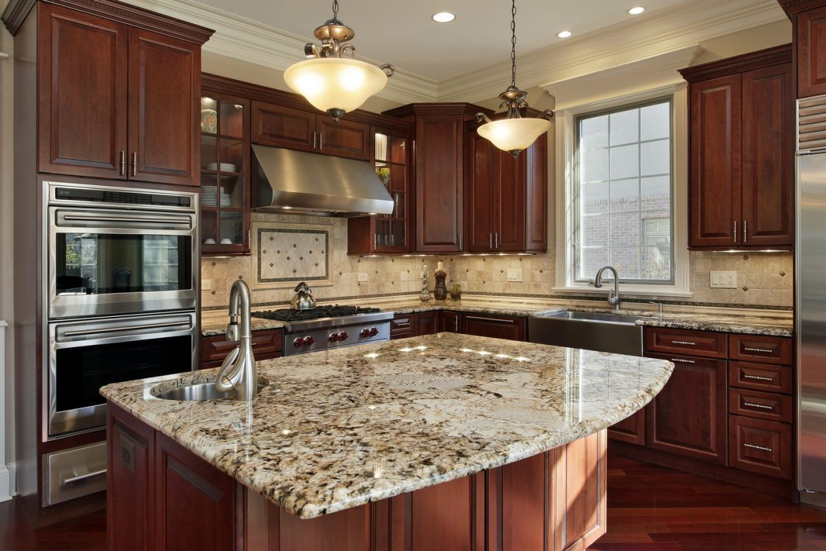 Kitchen cabinet refinishing gives your existing cabinets a refreshing, new look.