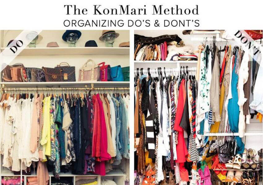 Keep your interior bedroom closet organized all the time